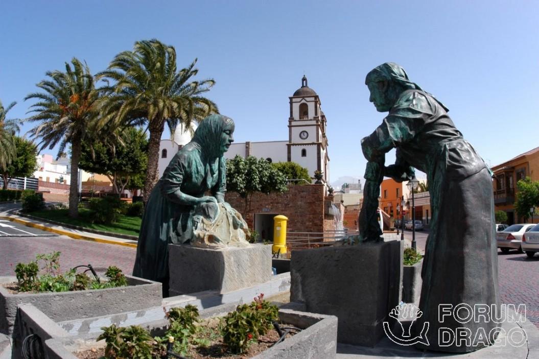 Plaza de las Lavanderas, Ingenio