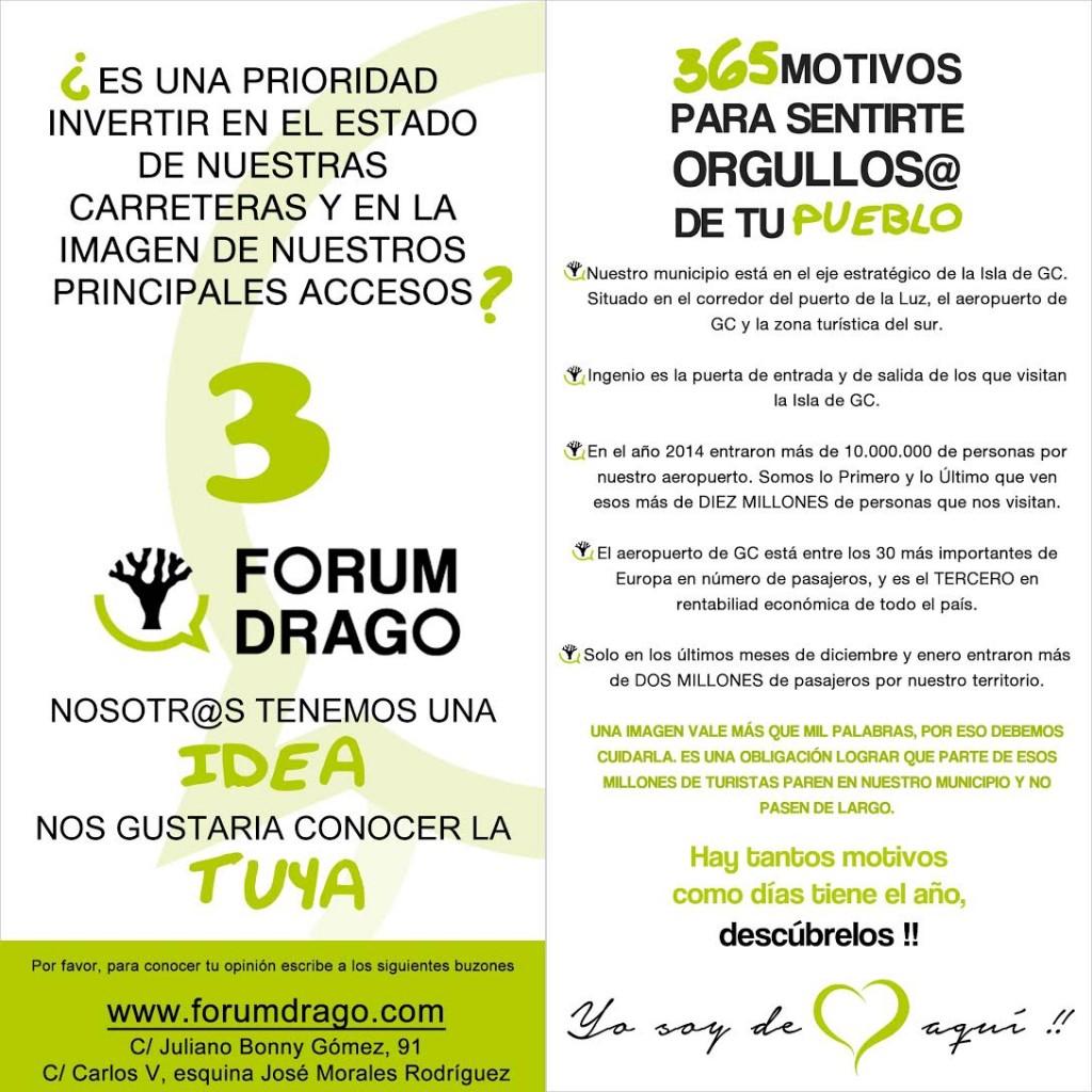 Forum Drago. 365 motivos. Vias e Imagen