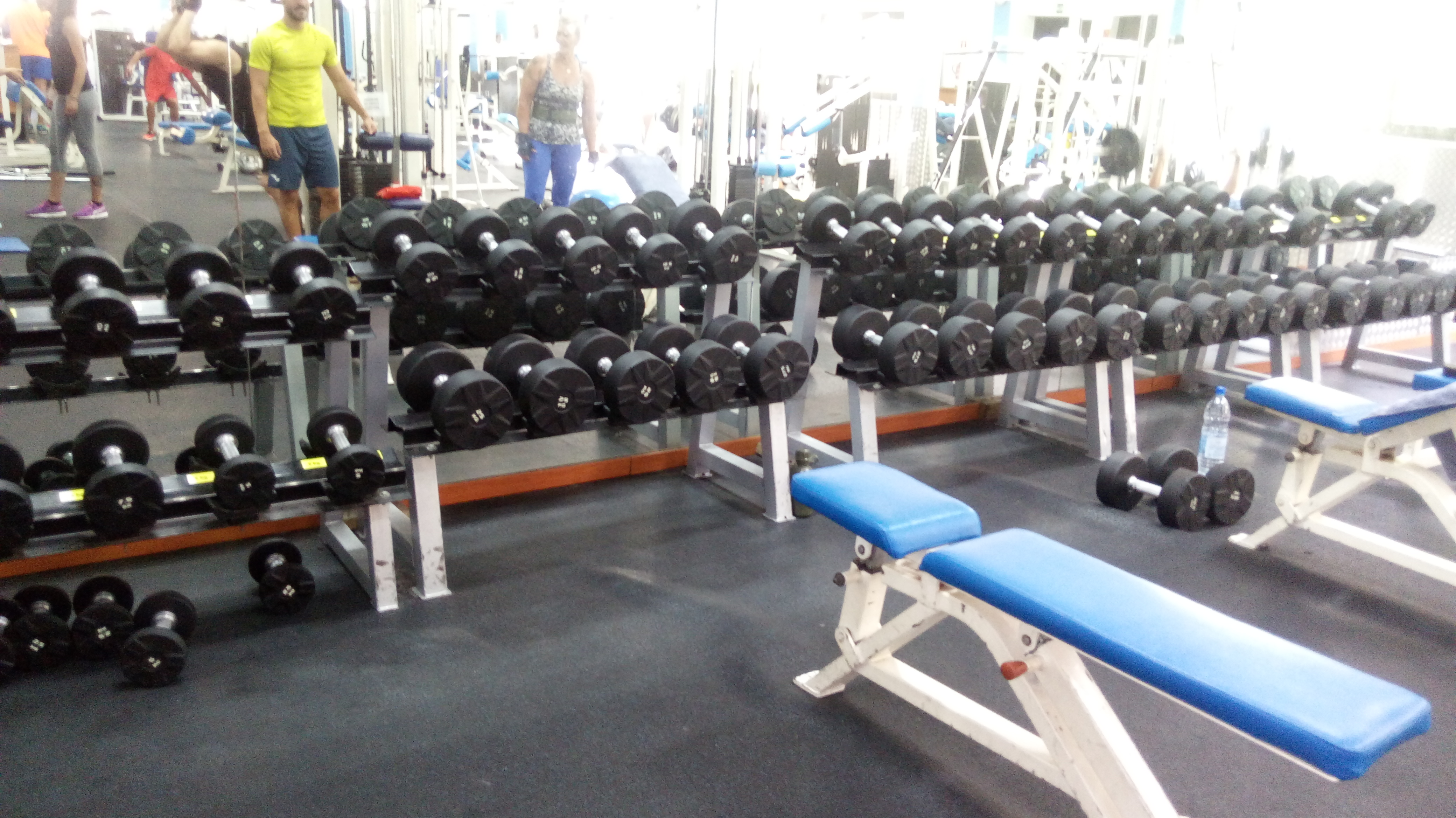 El gimnasio del centro deportivo ingenio renueva sus for Gimnasio del centro