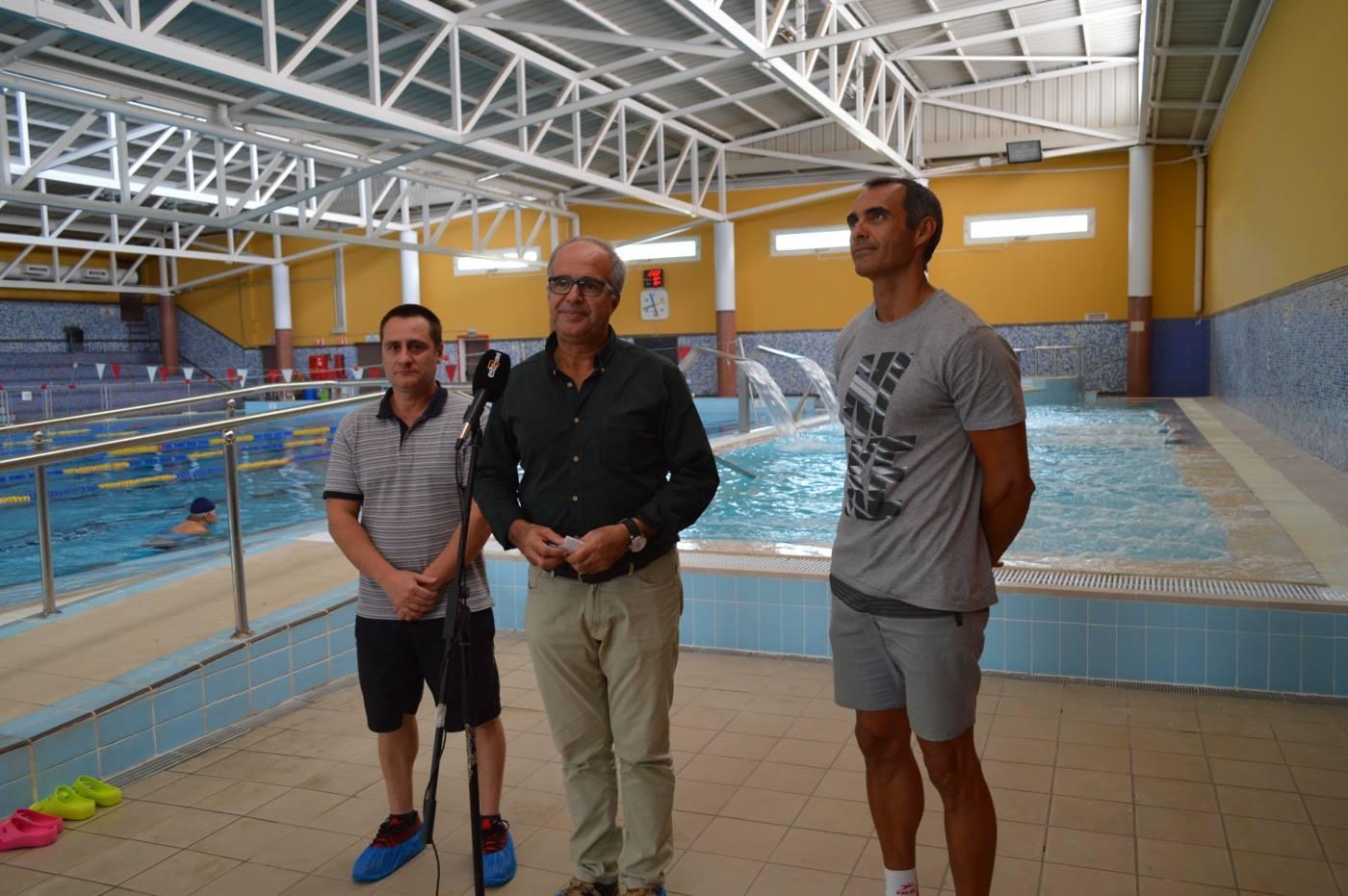 Reabre el spa de la piscina municipal de ingenio tras las for Piscinas financiadas